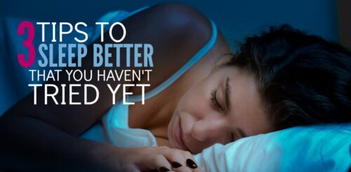 You've tried all the sleep tips out there. Your room is dark, you go to bed at the same time.. but these sleep remedies for adults just aren't working. Here are 3 science backed ways on how to get better sleep.
