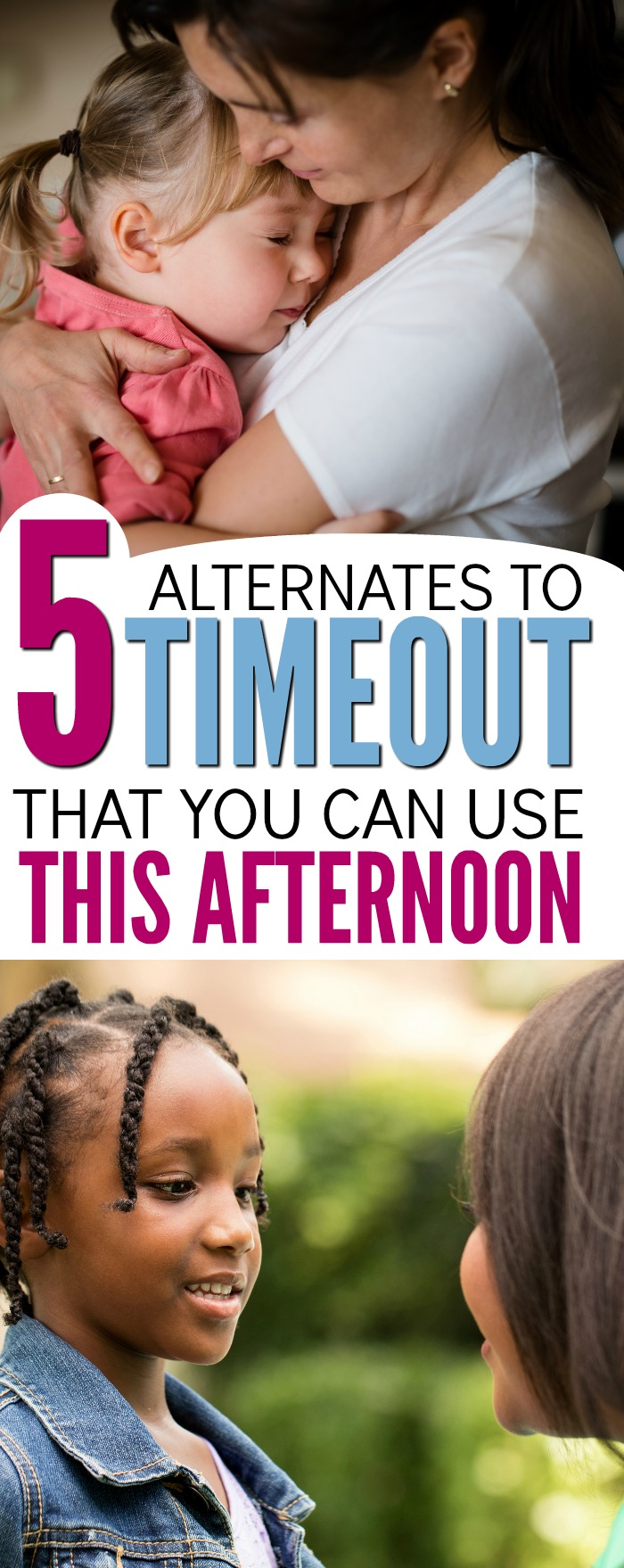 You've heard time outs don't work, but what positive parenting tactic can you use instead? These 5 simple child discipline strategies are way more effective than timeouts, spanking or any other punishment. Perfect advice for moms who are frustrated by their child's behavior.