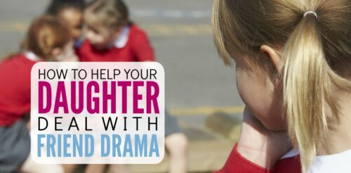 Girl drama! Ack, I'm tearing my hair out with this girl drama. All these arguments with good friends seem silly, but this showed me how they're an opportunity. Here's excellent parenting advice on how to encourage your daughter how to have positive relationships, choose good friends and be a good friend.