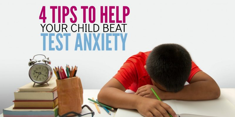 4 Tips to Help Your Kid Conquer Test Anxiety