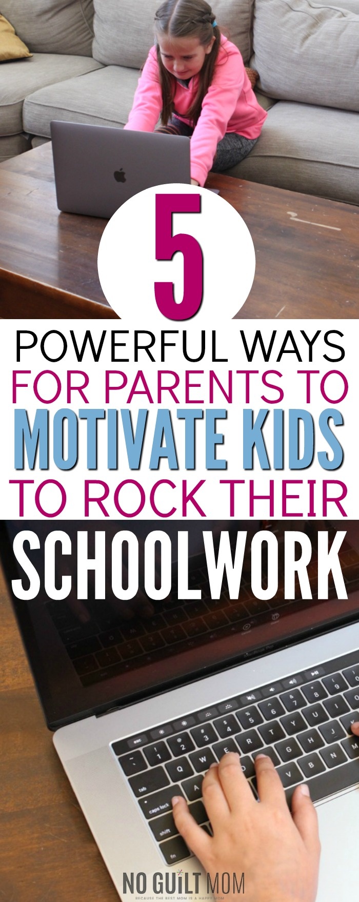 Motivating my child to do well in school feels so out of my control! But this shows me exactly how I can increase self motivation for my children as well as create internally motivated students. These positive parenting tips