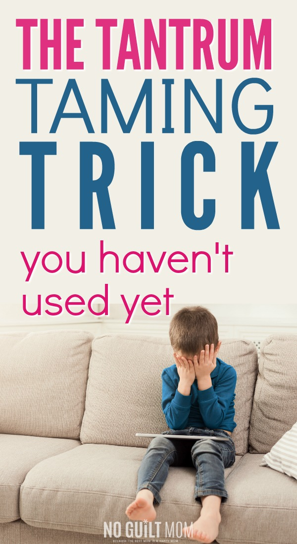 Yep, I was a mom who got so frustrated dealing with temper tantrums. This simple piece of parenting advice helped me to stop yelling at my kids. Great tips to use on toddler, preschoolers and even your elementary school/ grade schooler.