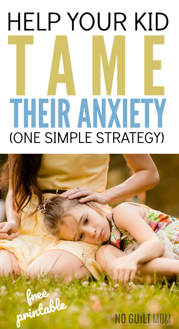 have tried everything to help my child with anxiety and nothing worked. This cognitive behavioral technique works like magic with the anxious child. It's awesome anxiety relief for kids and adults. As a parent, you'll love how easy this is to explain with the free printable included.