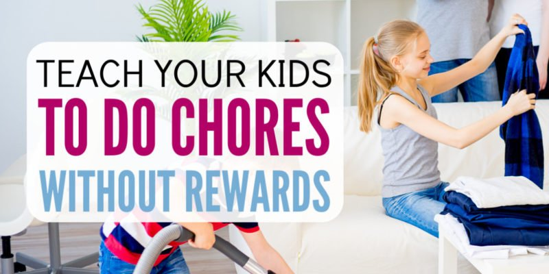 You Can Stop Rewarding Kids for Chores