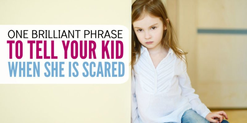 I don't want my child to quit when she is scared! This parenting tip is simple and easy to use while encouraging grit and perseverance in our kids. Helps any anxious kid overcome his or her fears.