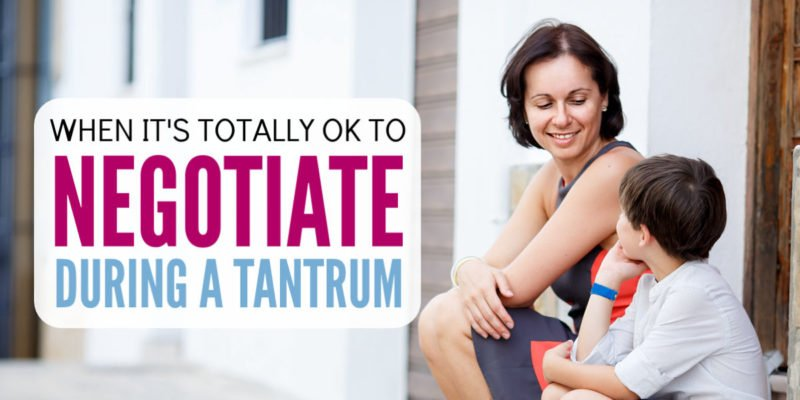 Tantrums are the worst! I never know if I'm doing the right thing when parenting. This helped me realize that it's ok to negotiate with your kids - especially during a public tantrum. Awesome way to encourage good child behavior! Great for preschoolers and young elementary school kids.