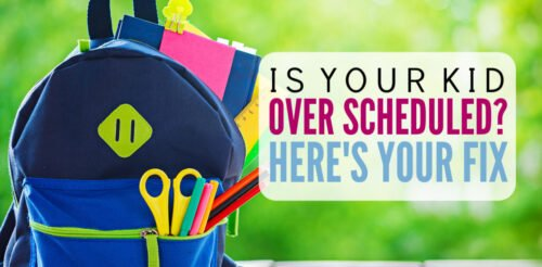 I couldn't keep up with my overscheduled kids! These tips are perfect for parents who are depleted from shuttling children from activity to activity. Great ideas for moms who feel tons of guilt.