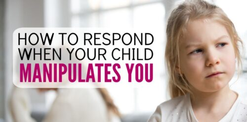 Manipulation drives me crazy! I don't know how to positive discipline when it occurs because I become emotional and end up yelling at my kids. These two simple tips are so helpful for parenting difficult children. Simple and straightforward way to handle spoiled and manipulative behavior from elementary school kids, tweens and teens.