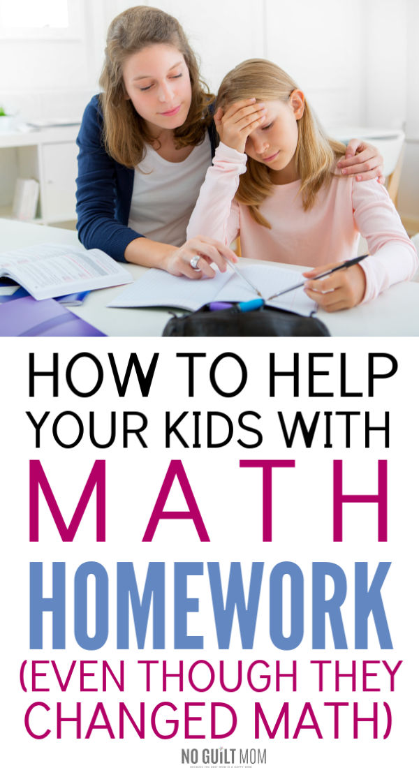 Whoa! The math homework my kids bring home is insane! This really helped me figure out how to approach problems neither me nor my child understands. Totally needed this parenting tip right now. It makes after school much less stressful.