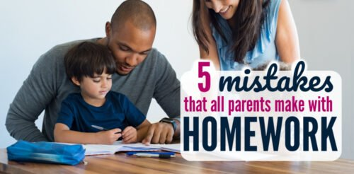 The struggle with homework is real. Homework tips and homework stations are helpful, but I was stunned I'm also making these mistakes! Here are simple ways to decrease homework fights at home and help with kids' motivation.