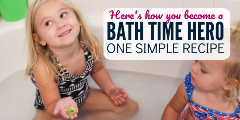 Who else wants to be a bath time hero? How to make bath bombs with toys inside