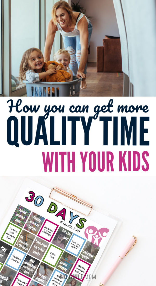 Up for a challenge? Quality time with your kids can be easy, inexpensive and fun with these simple ideas. A simple 30-day parenting challenge is exactly what you need to bring back the joy.