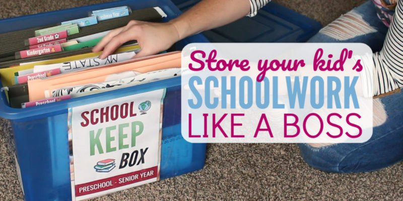 Organize Your Kid's School Papers like a Boss