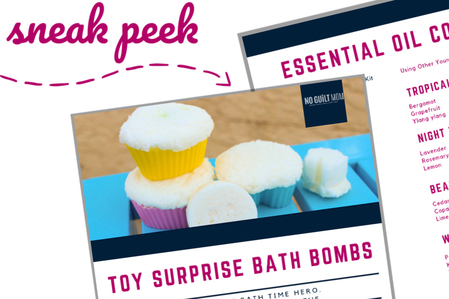 This ACTUALLY makes my kid's bath time calm and relaxing. And they love these DIY bath bombs with toys inside. All-natural and made with essential oils, these are perfect for bath fun or even as fun gift idea or party favors for kids.
