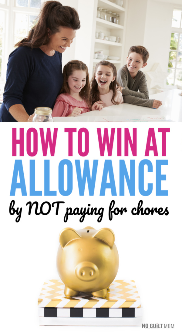My kids never do their chores so they never get their allowance! Do you ever say this? This simple parenting hack throws away the chore charts and reward systems. Instead, teach kids money this easier, more effective way. Perfect for elementary school age, middle schoolers, and high schoolers.
