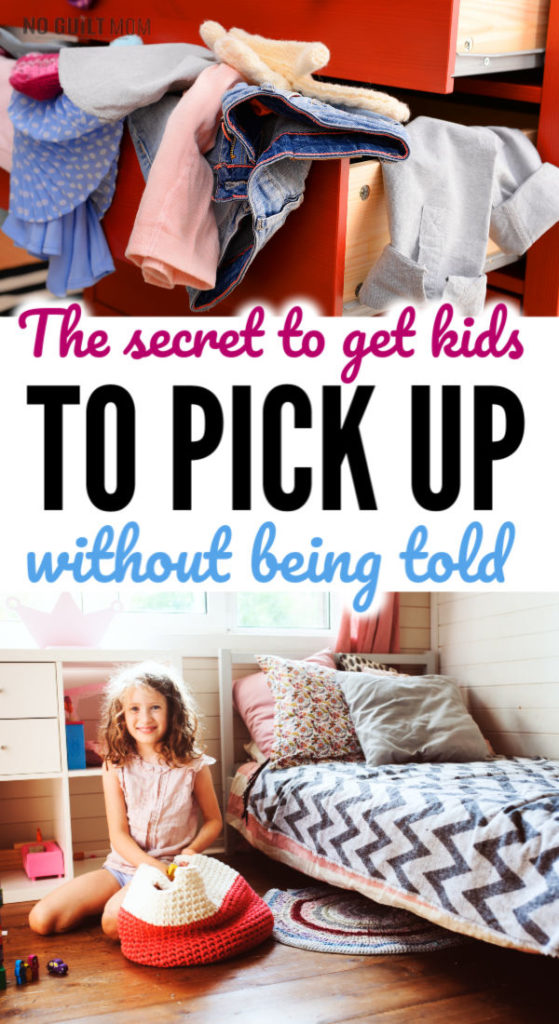 Wow!  I get so frustrated by the number of times I need to tell my kids to pick up after themselves.  It never ends!  This parenting tipb helped me teach them WHY it's important to tidy up their toys and keep their rooms clean.  Works perfectly for elementary age kids, middle schoolers and even high schoolers.