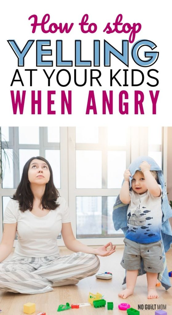 When your child does something to make you mad, what are you telling yourself?  This parenting tip is a proven way on how to stop yelling when angry.