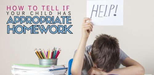 Homework can cause parents and families so much frustration! Especially when we think its busywork! This advice for moms and dads will help you judge if homework is appropriate and what to do if it isn't.