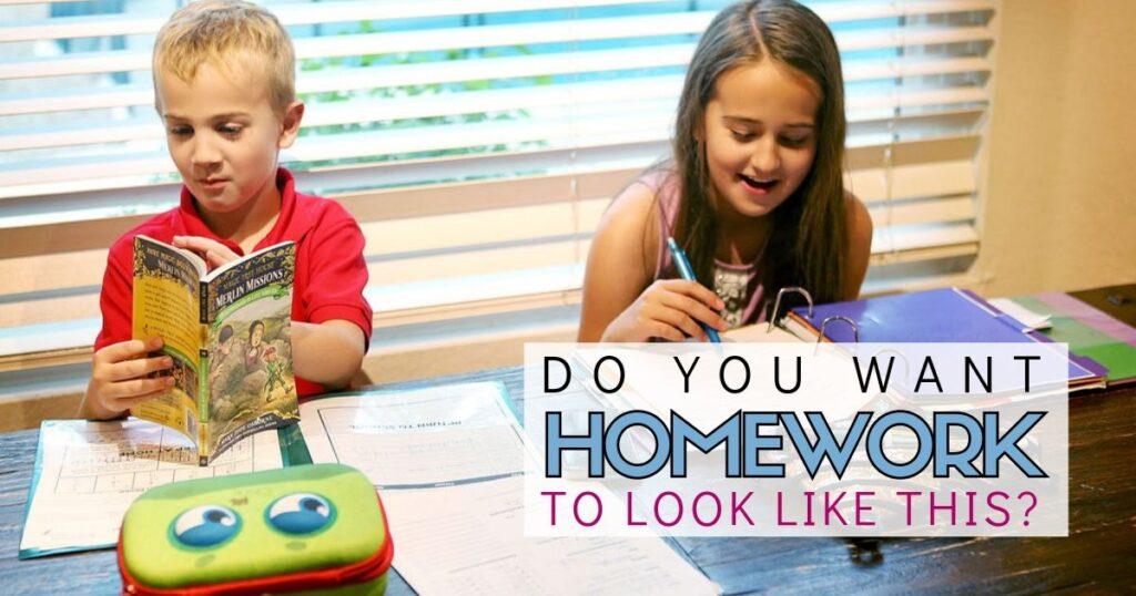 Do kids like homework