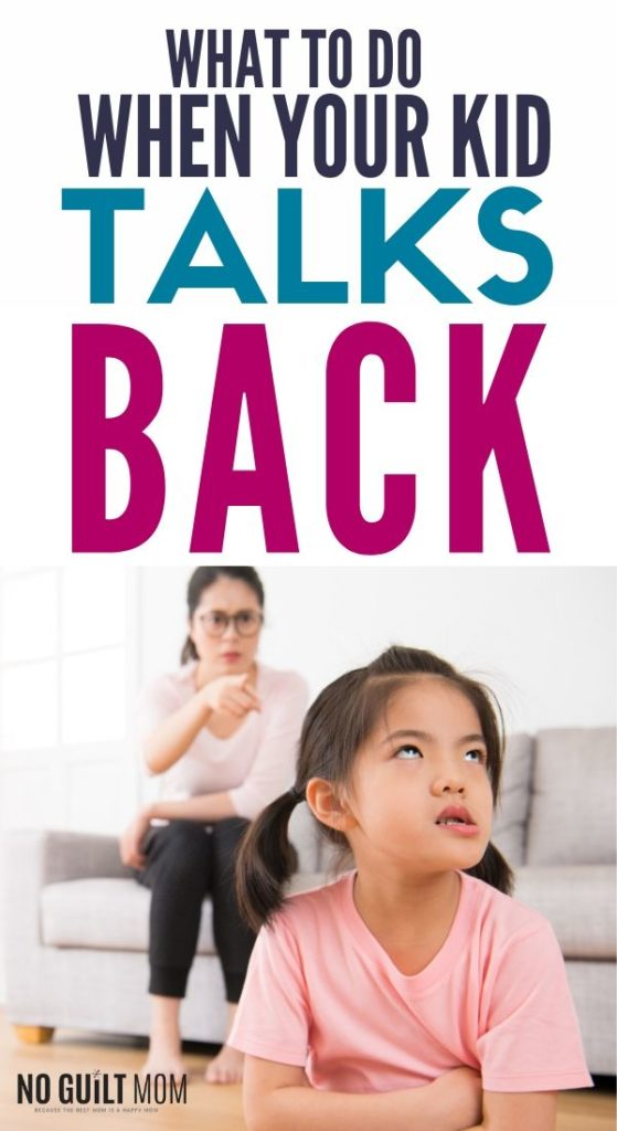 These four steps help you deal with kid backtalk fast with natural consequences.  This advice for moms is full of great parenting tips and encouragement.  Helps a ton with anger management!