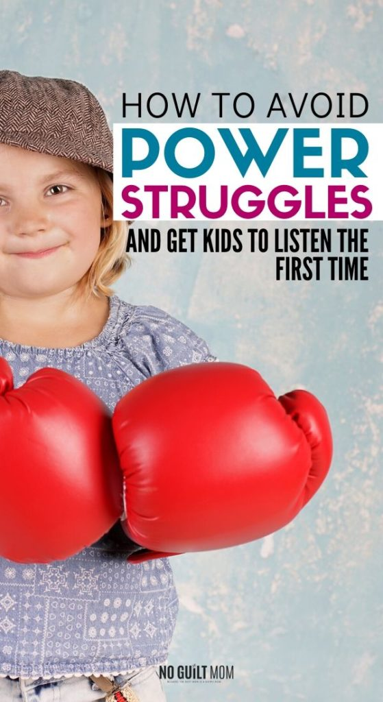 Ugh, power struggles! They wear parents down. This post shows how to get kids to follow directions without a fight. Great parenting tip and advice for moms who are tired of the constant pushback.